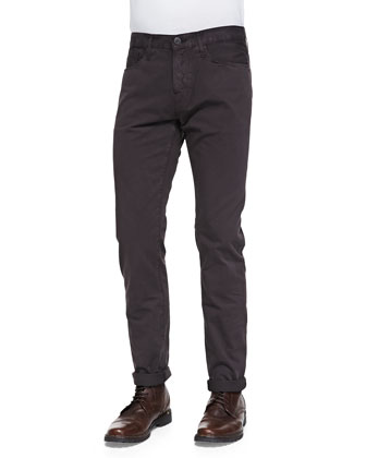 M3 Selvedge Twill Jeans, Brown