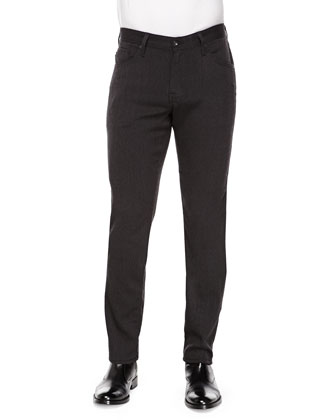 The Graduate Five-Pocket Pants, Charcoal