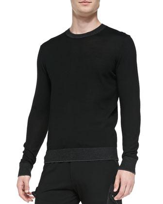 Lightweight Wool Pullover Sweater