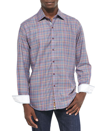 Stillwater Multi-Plaid Sport Shirt
