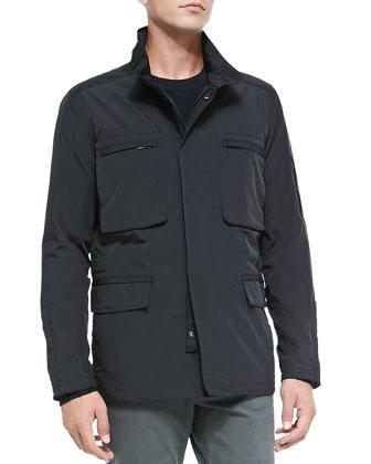 Cempos Jacket in Fuel, Black