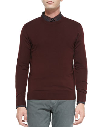 Riland TW New Sovereign Sweater, Red