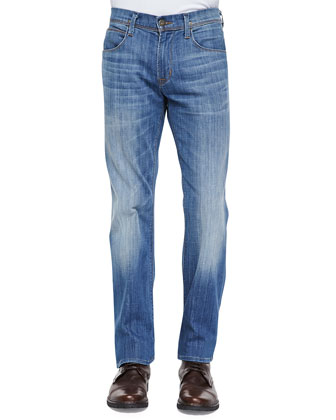 Clifton Comrad Relaxed-Leg Jeans, Light Blue