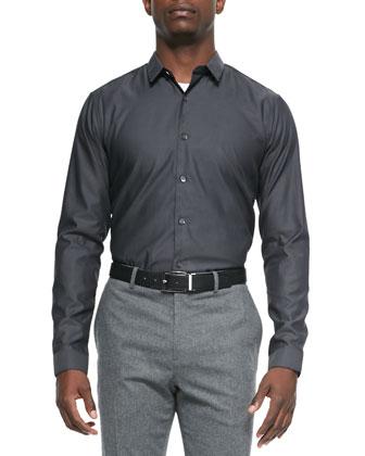 Stephen Solid Woven Shirt