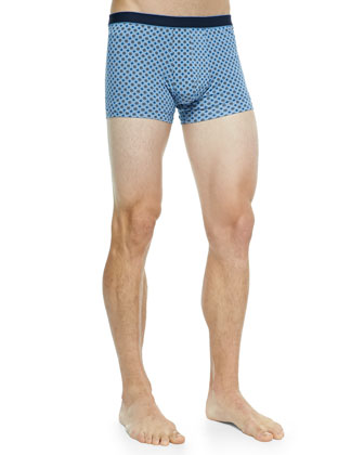 Star 4 Hipster Boxer Briefs, Blue