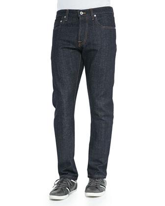 Henley Dry Slim-Leg Jeans