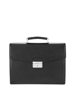 Prada Leather Double-Gusset