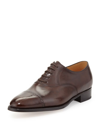 Phillip II Lace-Up, Dark Brown