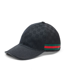 Gucci Canvas Baseball Hat