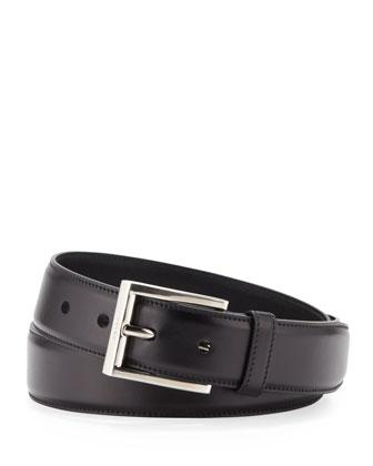Spazzolato Belt, Black