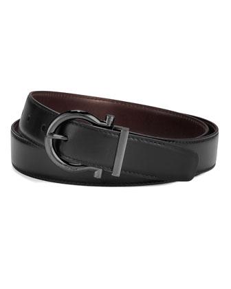 Gancini-Buckle Belt