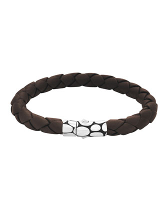 Woven Bracelet, Brown