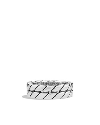 Curb Chain Band Ring