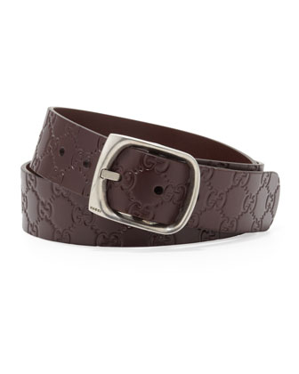 Guccissima Belt