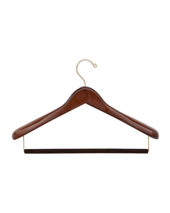 Luxury Wooden Suit Hanger, Medium