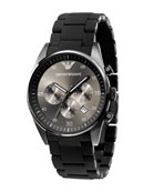 Chronograph Sport Watch, Gunmetal