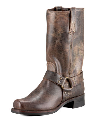 Harness 12R Boot, Chocolate
