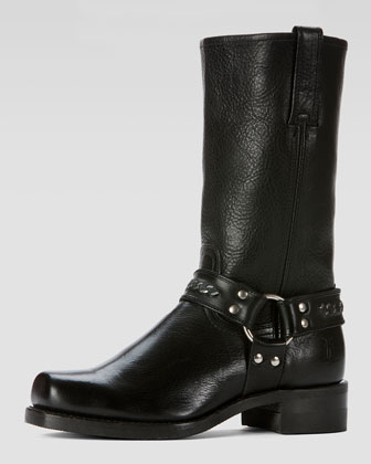 Men's Harness 12R Chain Boot, Black