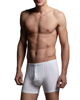 Cotton Superior Long Boxer Briefs