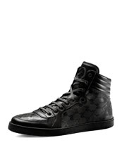 Gucci Hi-Top Interlocking-G Sneaker