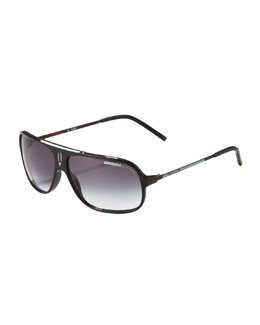 Carrera Cool Square Aviators, Black