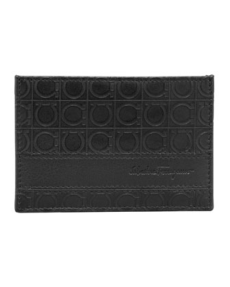 Gamma Card Case, Black