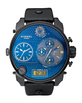 Round Chronograph Watch