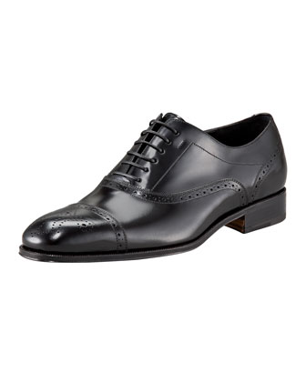 Caesy Medallion-Toe Oxford
