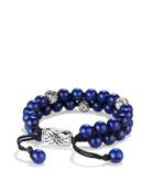 Spiritual Bead Bracelet, Lapis, 8mm