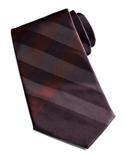 Burberry Exploded-Check Tie, Red
