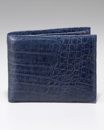 Crocodile Bi-Fold Wallet