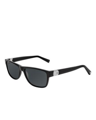 Tag Sunglasses, Black
