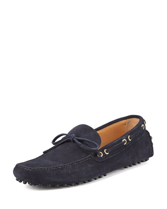 Classic Suede Driver, Navy
