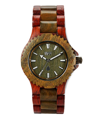 Wooden, Brown/Army