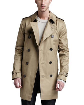 Poly-Cotton Trenchcoat, Fallow