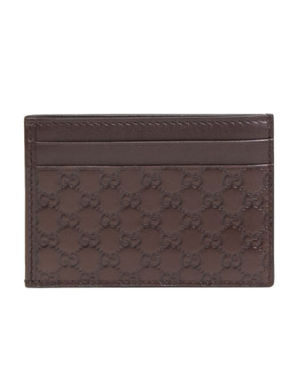 ID-Window Card Case, Brown