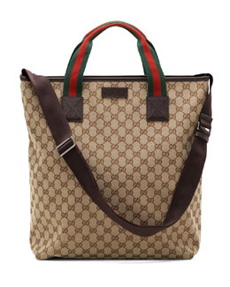 Gucci Signature Web Tote Bag