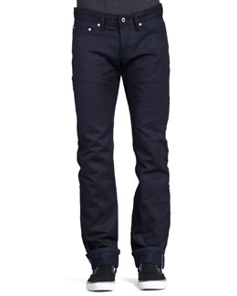 Naked and Famous Denim WeirdGuy Blue Selvedge Jeans