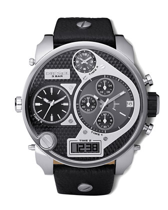 Two-Tone Chronograph Watch