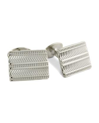 Chevron Cuff Links