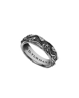 David Yurman Waves Band Ring, 7mm