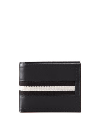 Web-Trim Wallet, Black