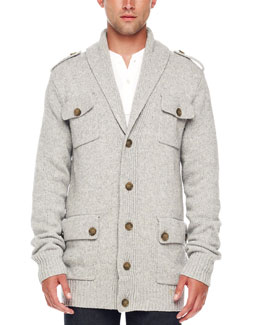 Michael Kors Military Cardigan