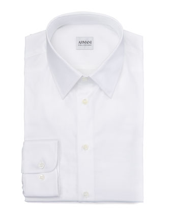 Modern Fit Dress Shirt, White