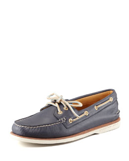 Sperry Top-Sider Gold Cup Authentic Original Boat Shoe, Navy