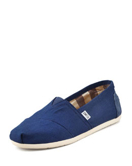 TOMS Ashby Twill Slip-On, Denim