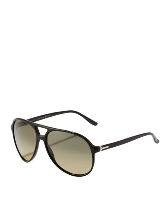 Plastic Aviator, Black