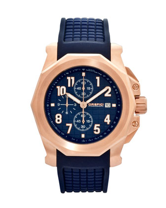 Galante Chronograph Watch, Blue