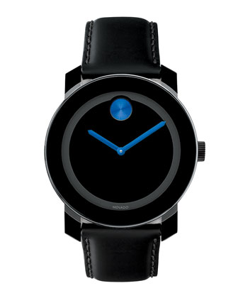 42mm Bold Watch, Blue/Black