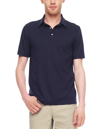 Sleek Cotton Polo